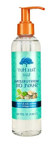Tree Hut Bare Moisturizing Shave Oil Soothes Skin Protects a