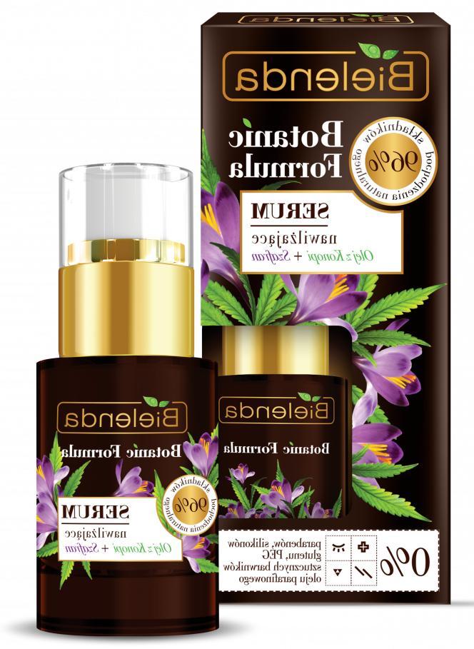 BIELENDA BOTANIC FORMULA Hemp Oil + Saffron Moisturizing Fac