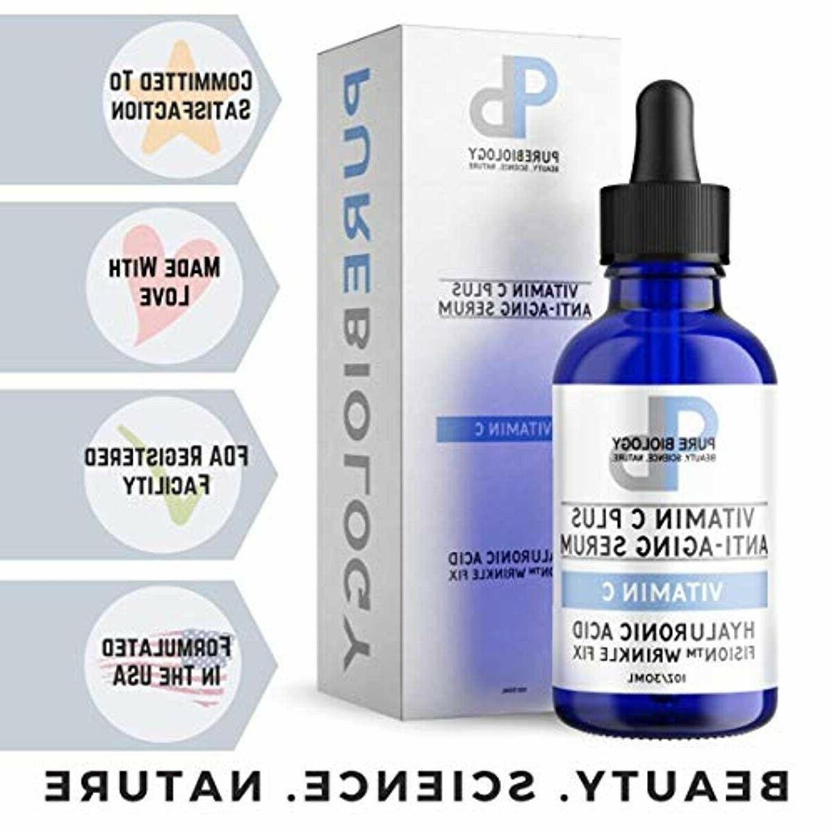 Pure Biology C with Acid, Witch Hazel, Vitam