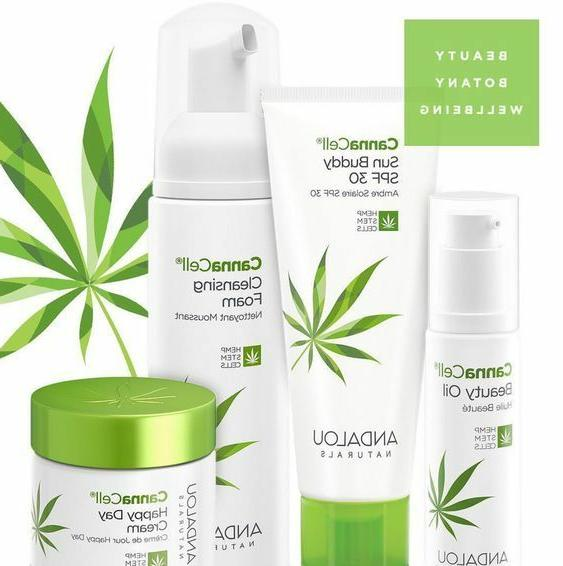 cannacell skin care collection