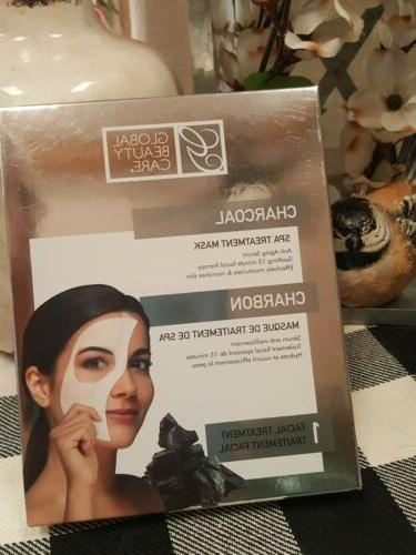 Charcoal Vitamin Gel Treatment Mask Anti-Aging Moisturize