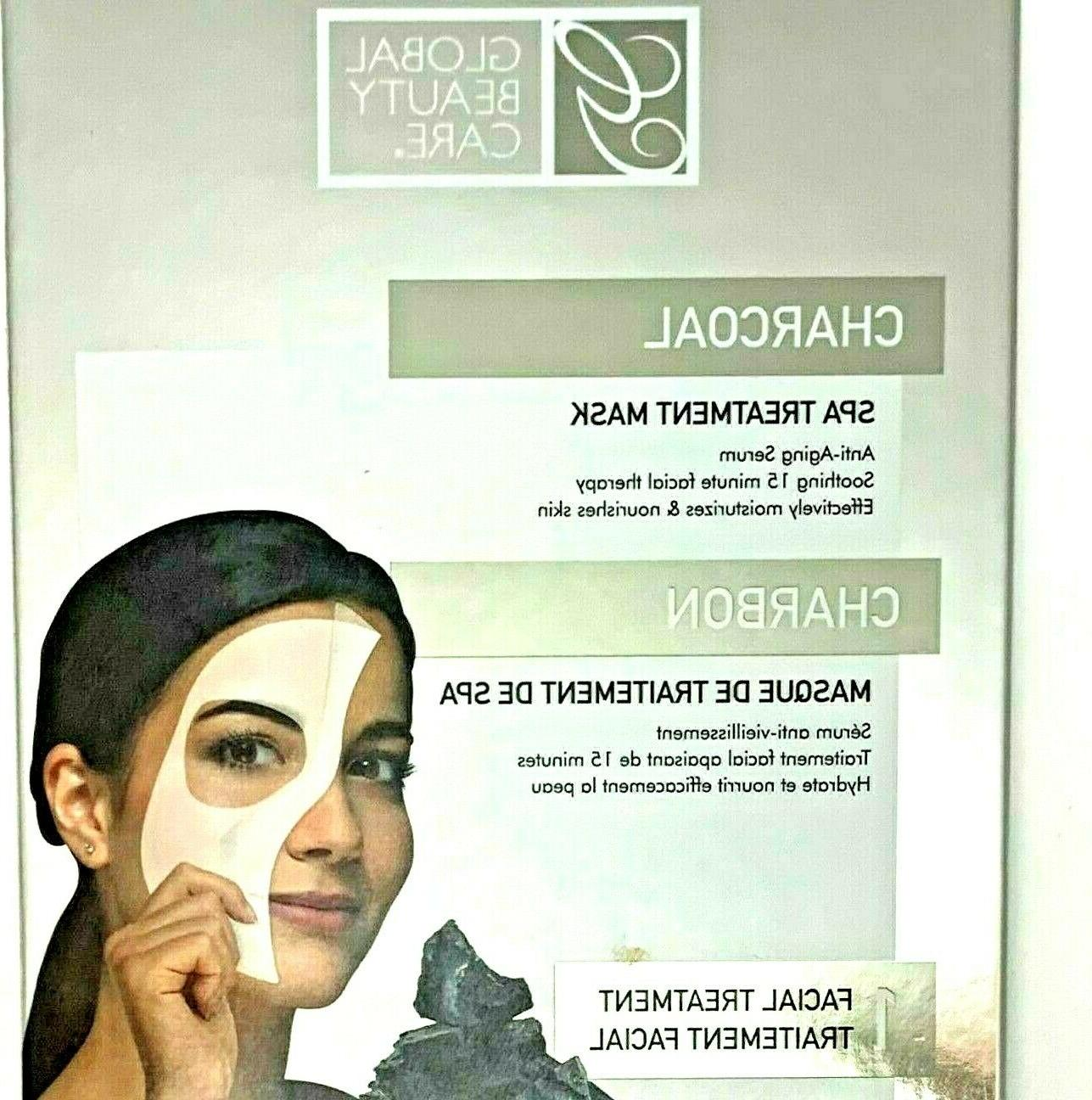 charcoal and vitamin e gel face treatment