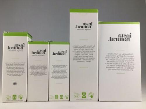 InstaNatural Retinol Skin Clearing Serum, Cleanser, Niacinamide, & Toner
