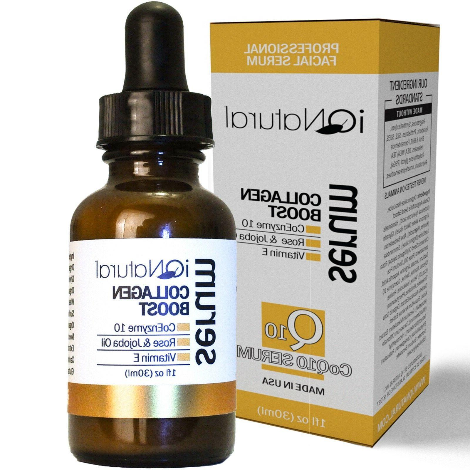 collagen facial firming serum peptide