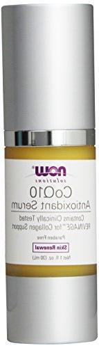NOW  CoQ10 Antioxidant Serum, Age-Defying Serum, 1-Fluid Oun