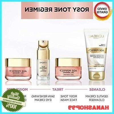 Crema -Perfecta De Células Hidratante Anti-Envejecimiento Rosa Tint