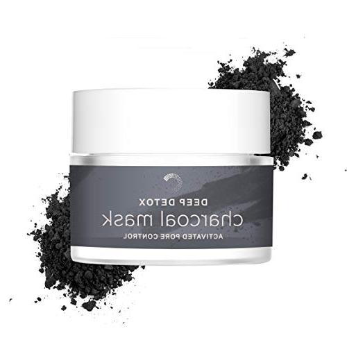deep detox activated charcoal clay
