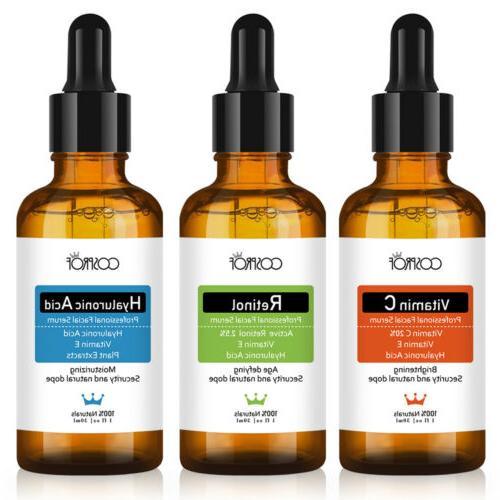 Best Aging Serum Kit Retinol Serum+VITAMIN C Serum+HYALURONIC ACID Serum