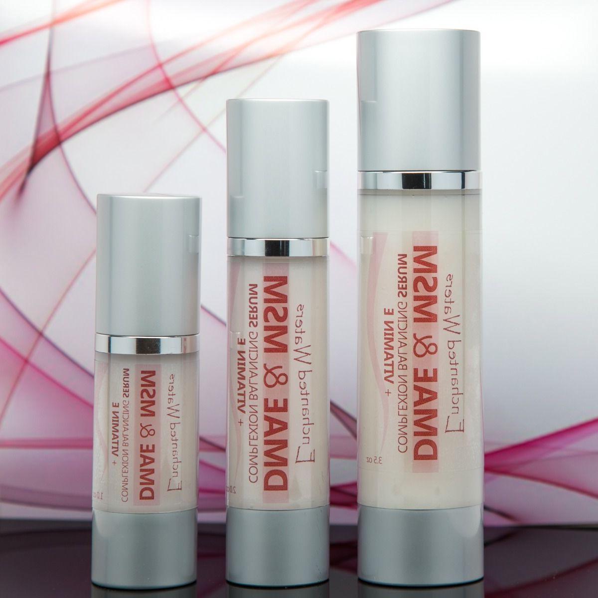 dmae and msm serum natural organic skin