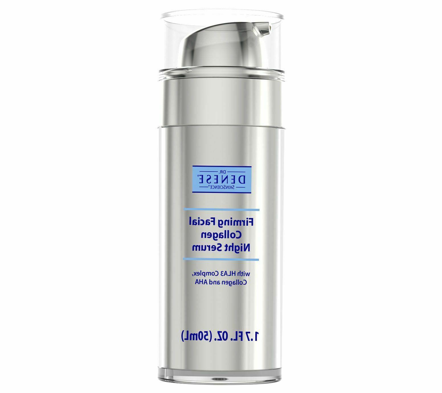 dr denese firming facial collagen night serum
