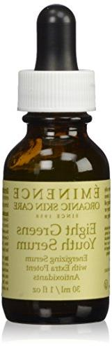 Eminence Eight Greens Youth Serum 1oz, FREE SHIPPING