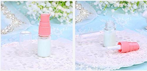6PCS Empty Lotion Dispenser Cream Makeup Shampoo Wash Shower