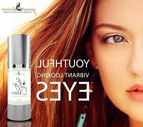 Eye Cream Circles and Puffiness and Under Perfect Under For Women - Highest Eye Wrinkle With Ingredients Anti