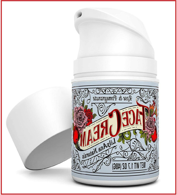 LilyAna Moisturizer Aging Skin Care -Rose 1.7oz