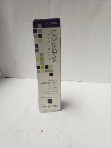 facial serum spf 30 age defying unscented