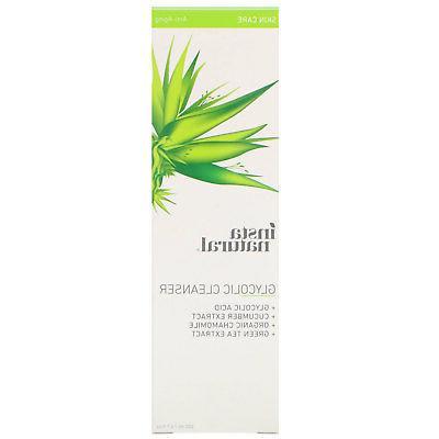 glycolic acid facial cleanser wash 6 7