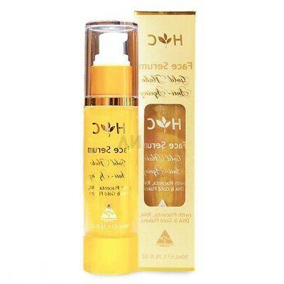 gold flake anti ageing face serum 50ml