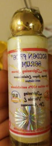 Golden Face Serum super lightening serum