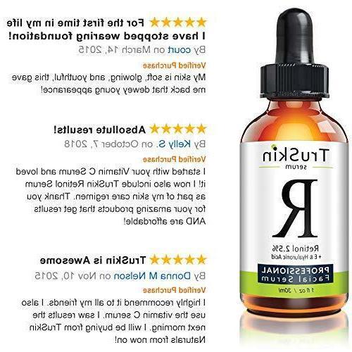 ✨TruSkin Hyaluronic Vitamin C Tree Facial Serum