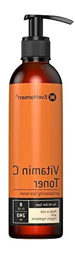 Natural Vitamin C Face Toner - Hydrating, Firming, pH Balanc