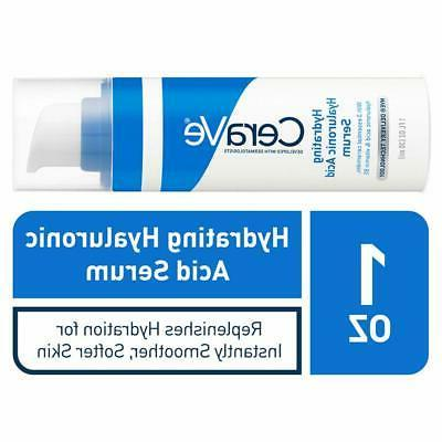 CeraVe Hyaluronic Acid Face Serum 1oz | Hydrating Serum for