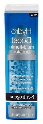 NEUTROGENA HYDRO BOOST MULTI-VITAMIN BOOSTER 1 Ounce