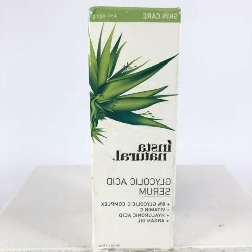 insta natural glycolic acid serum anti aging