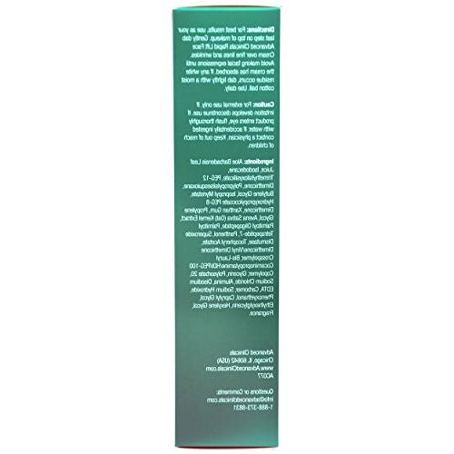Advanced Clinicals Instant Tightening improves the look sagging skin, dryness, tired fine Oat Vitamin and Aloe Vera. 2oz
