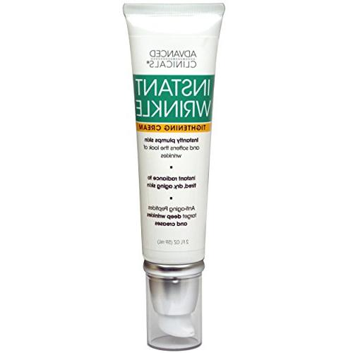 instant wrinkle tightening cream targets