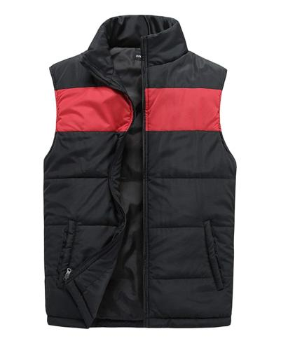 mens quilted vest outerwear lightweight warm padded