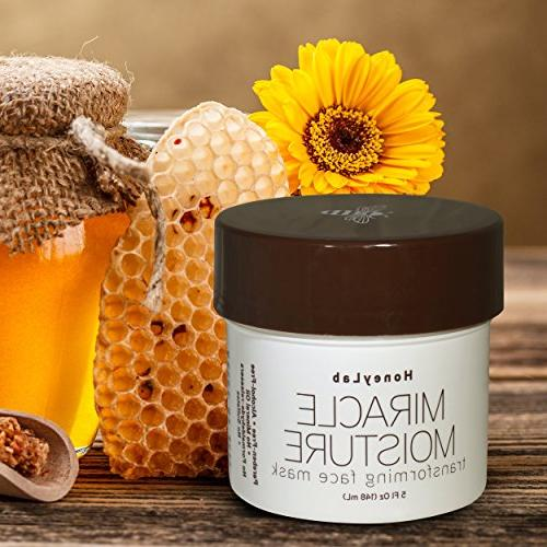 Honeylab Facial and fine Manuka Hazel. Firms of sagging 5oz jar.