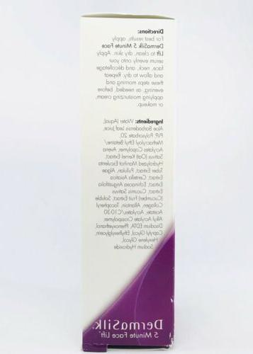 New 5 Face Lift Serum fl Lifts Tightens Squeeze