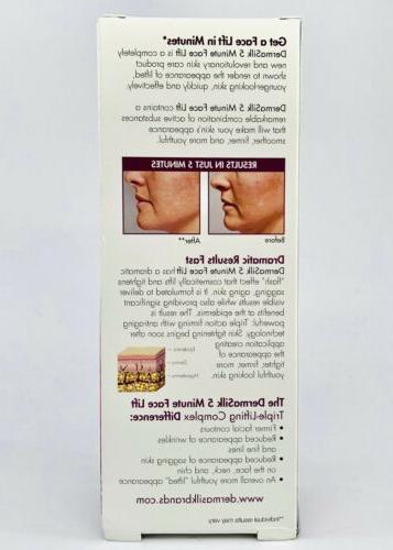 New 5 Minute Face Lift Serum 1 fl oz. Lifts Squeeze Tube