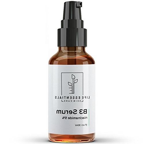 Niacinamide 5% B3 Serum - Aging Tightens Reduces Wrinkles, Boosts Collagen & Repairs Skin - 1