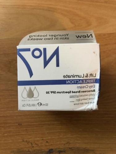 no7 lift luminate triple action day cream