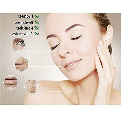 OALEN Vitamin C with Hyaluronic Acid Organic Serum for