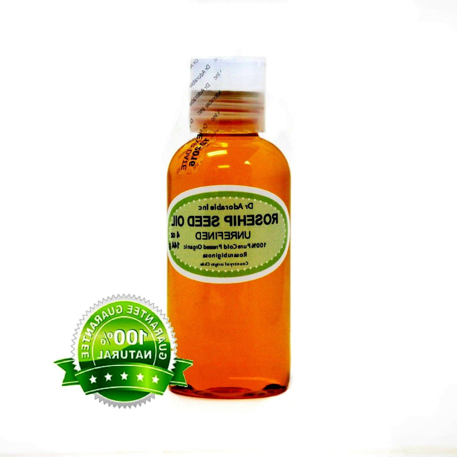organic rosehip seed oil unrefined 100 percent