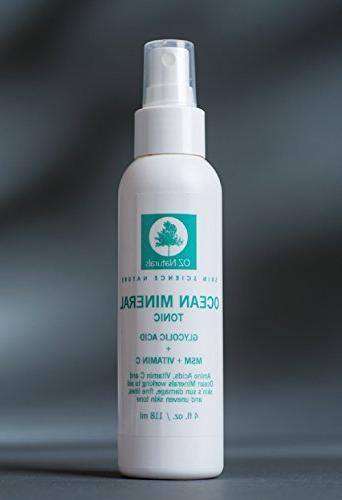 OZNaturals Facial Toner- This Natural Skin Vitamin Acid & This Face Considered The Anti Aging Toner Available!
