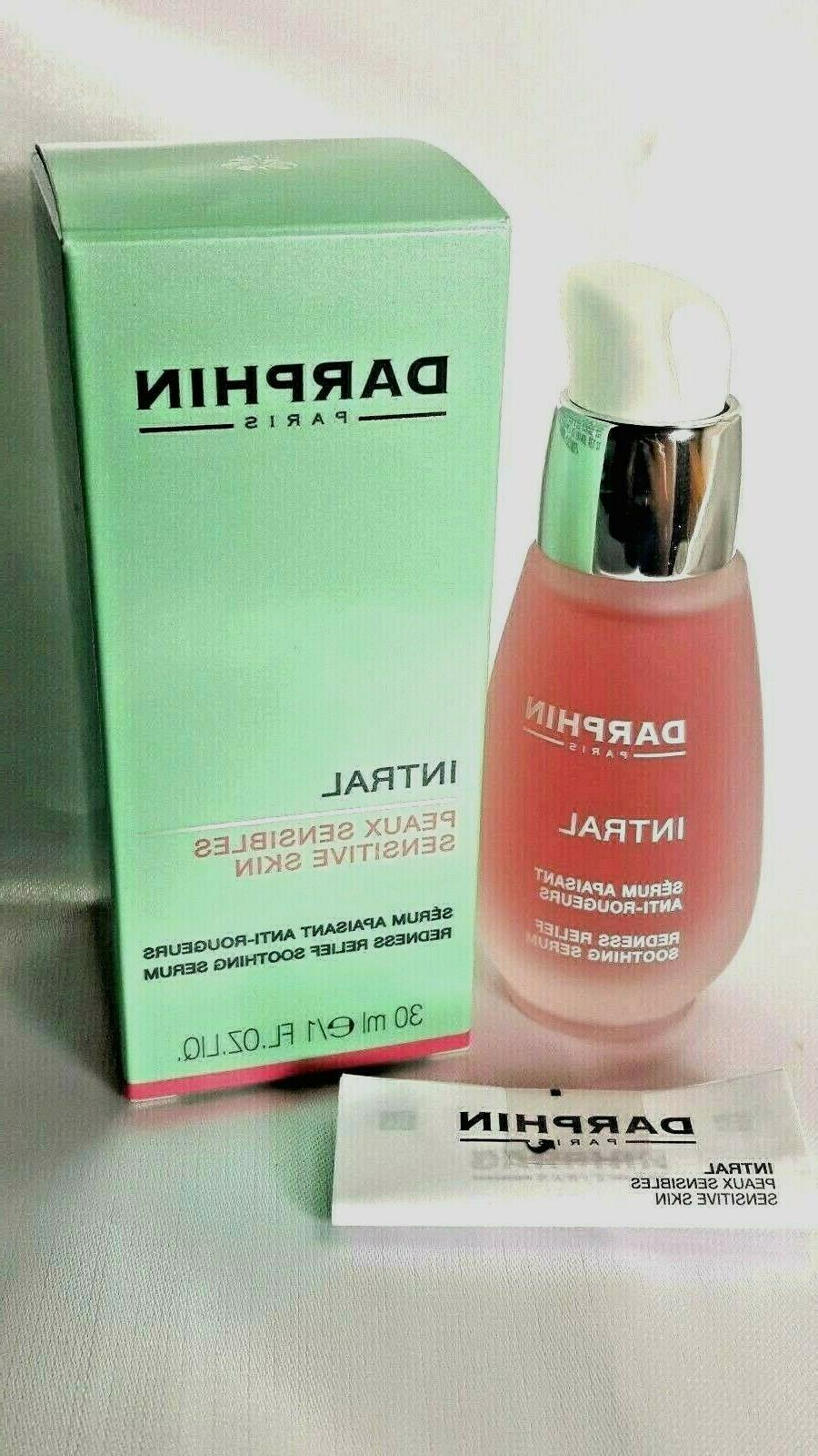 paris intral sensitive skin redness relief soothing