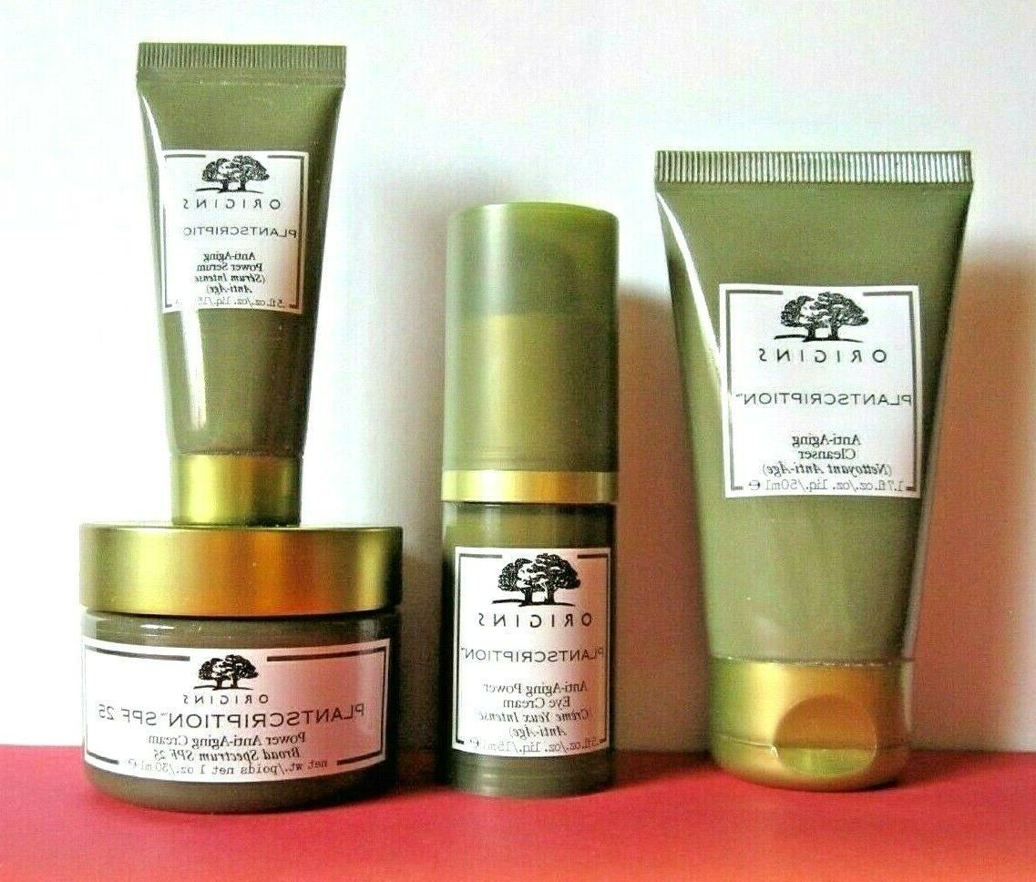 ORIGINS Plantscription Cream / Eye / / Cleanser Set
