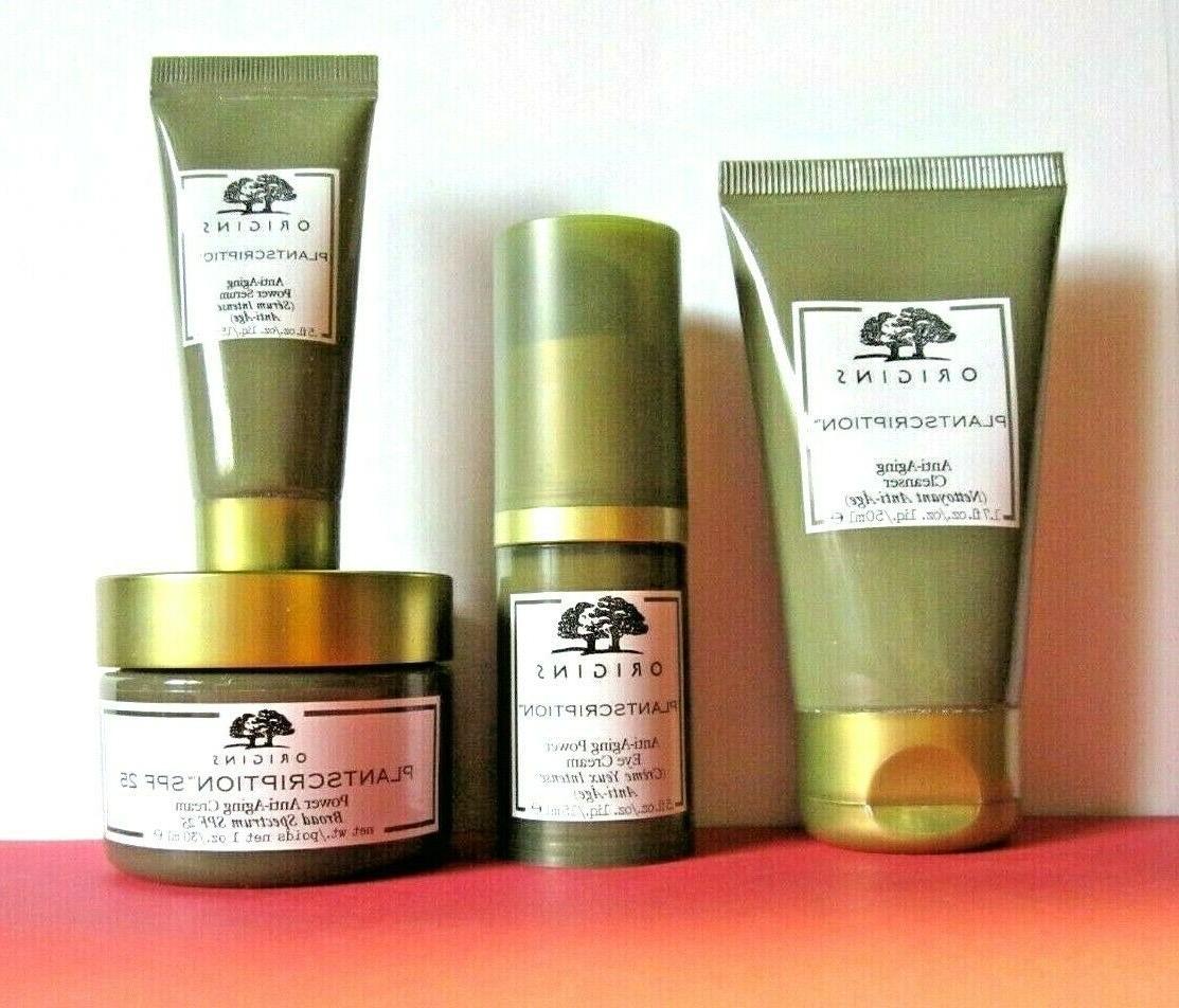 ORIGINS Plantscription Anti-Aging Face Cream / Serum Set