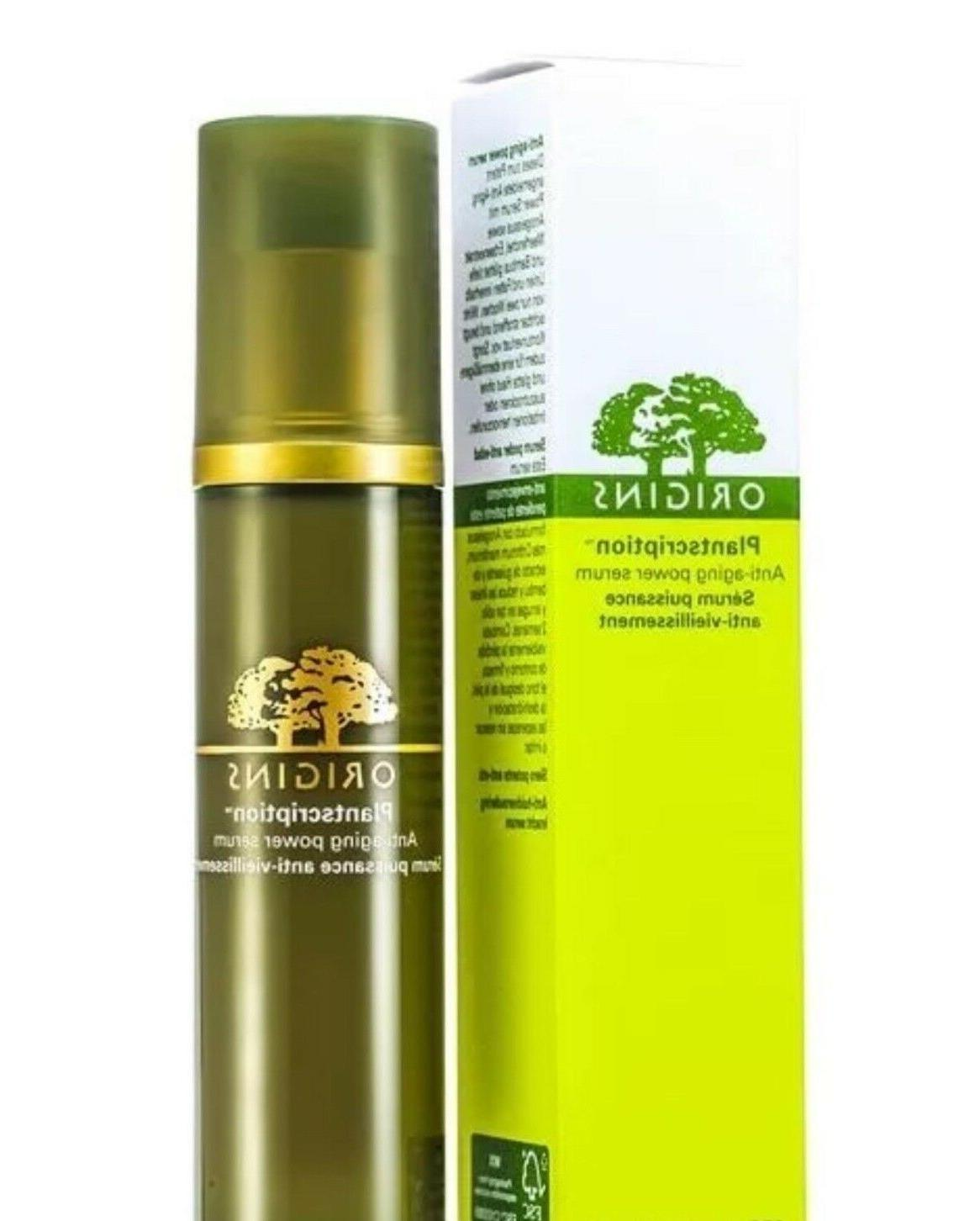 plantscription anti aging power serum
