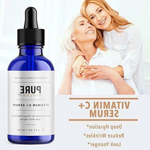 "Premium Serums Vitamin C With Hyaluronic Acid, E """