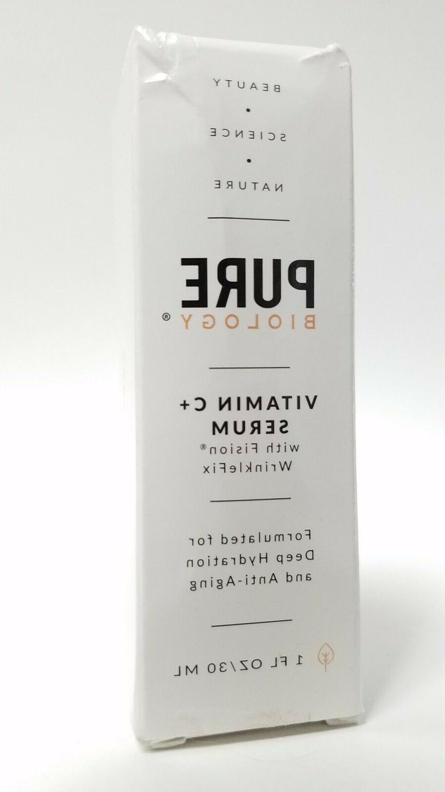 Pure Biology C Serum w/ Acid & Anti Aging