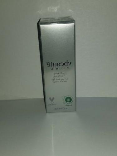 pure anti aging face serum new in