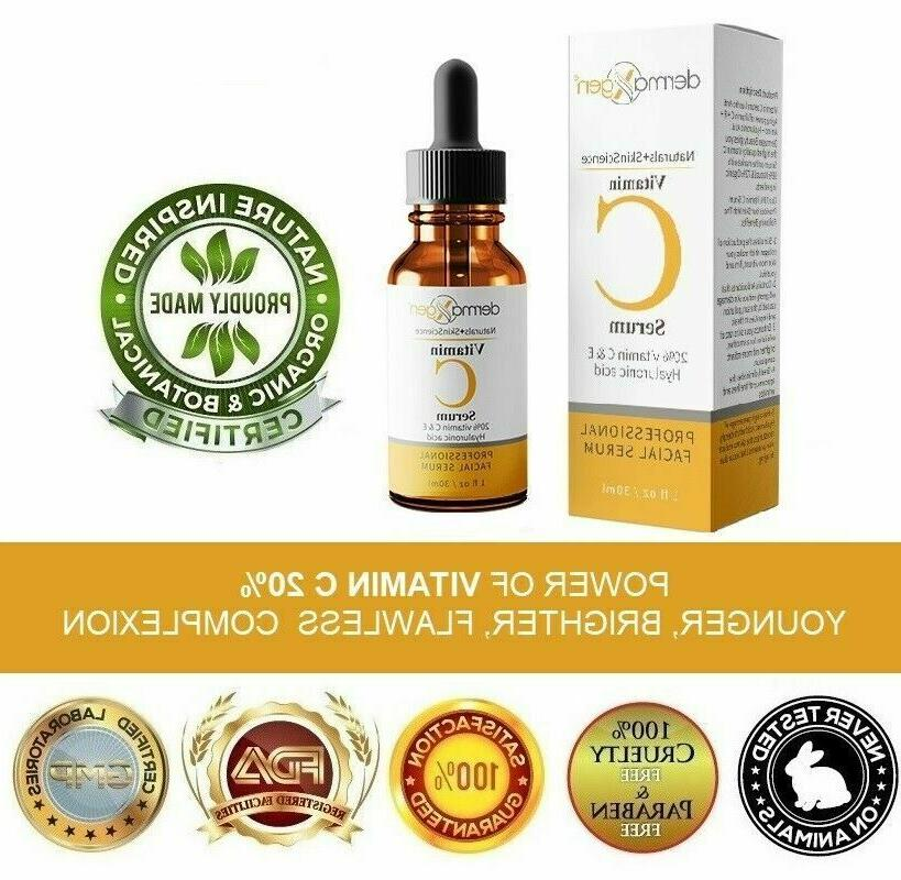 dermaXgen® Vitamin C 20%+ E + Anti-Wrinkle