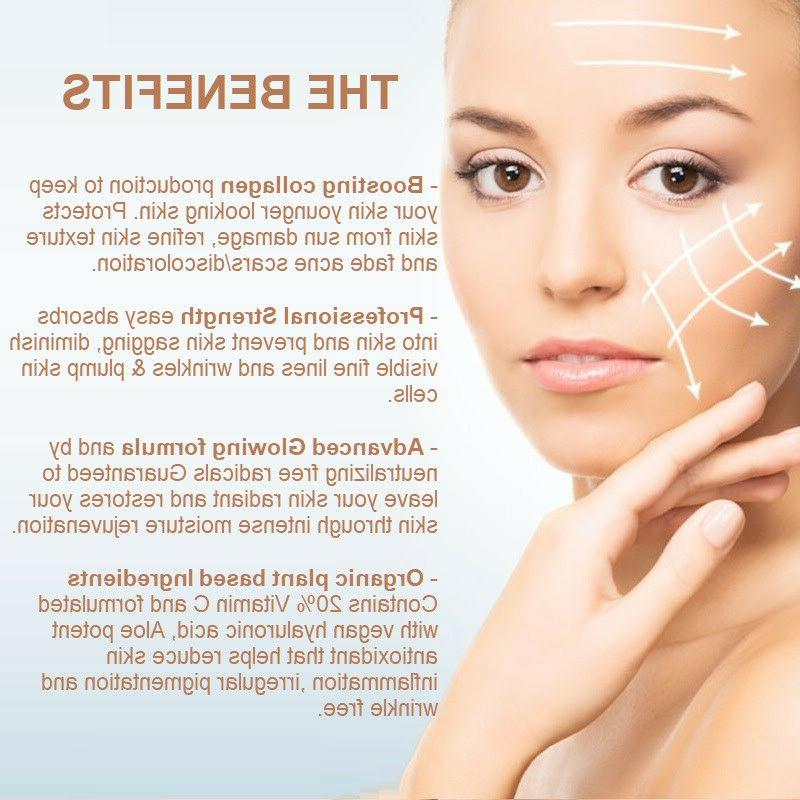 dermaXgen® C 20%+ + Hyaluronic Acid Serum BEST Anti-Wrinkle