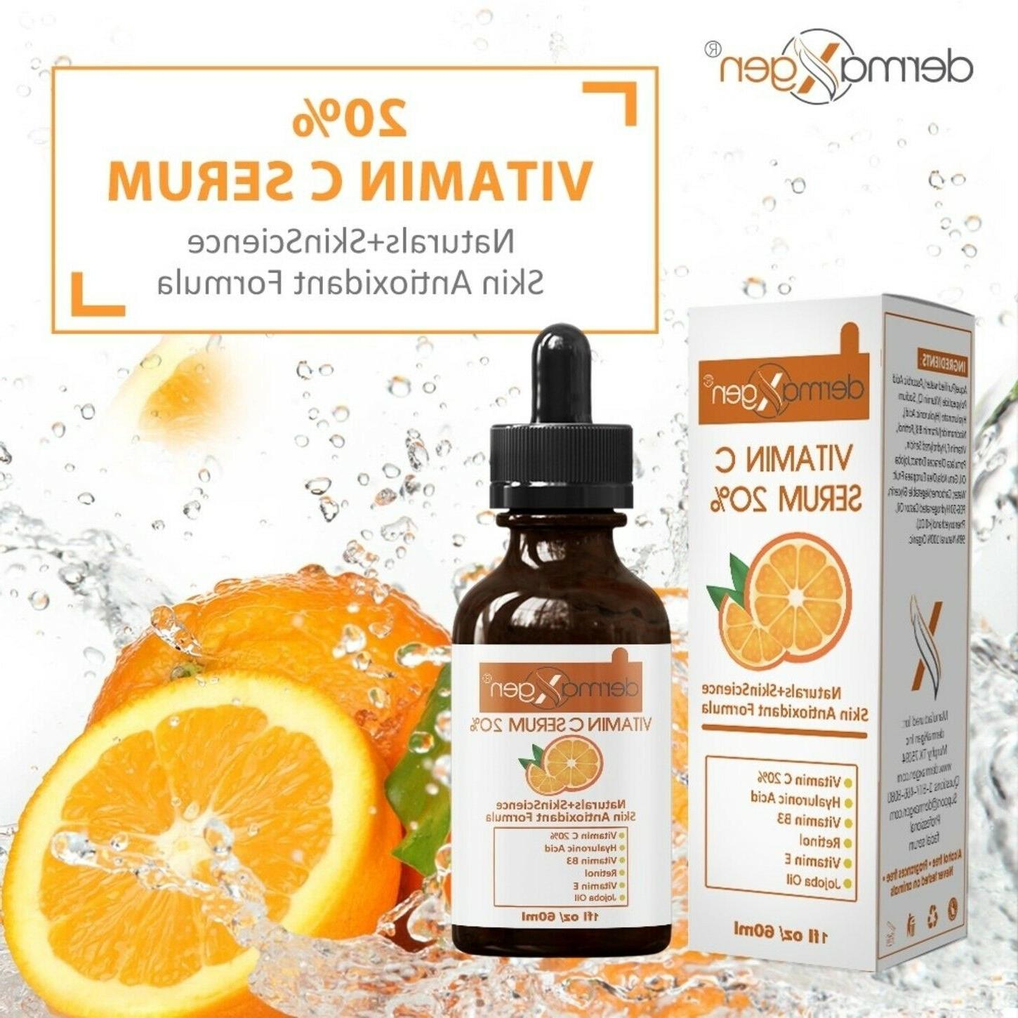 pure vitamin c 20 percent e hyaluronic