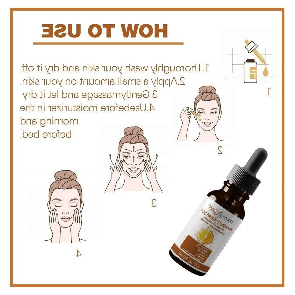 30% VITAMIN B3+E+Hyaluronic Acid Antioxidant Serum