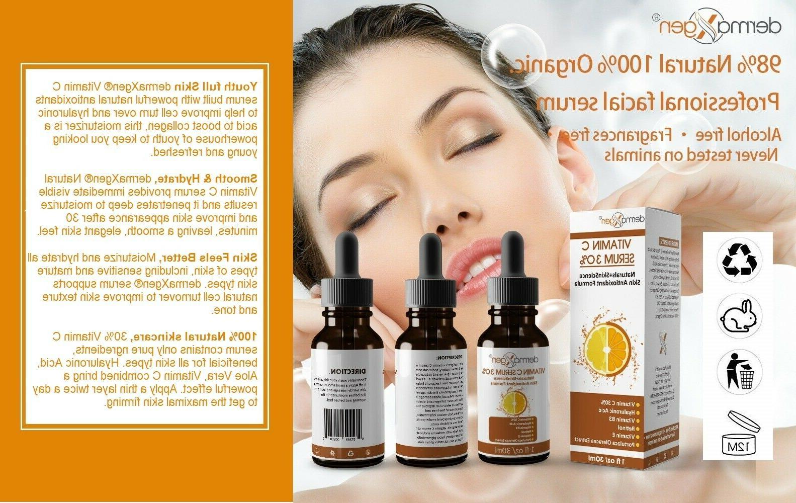 dermaXgen® Pure Vitamin 30% + VITAMIN Acid